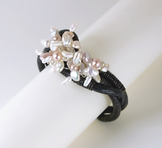 Cherry Blossom Wrist Corsage
